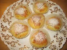 Gluten Free Baking, No Bake Desserts, Muffin, Goodies, Breakfast, Recipes, Food, Sweet Like Candy, Morning Coffee