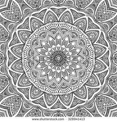 Mandala. Coloring page. Vintage decorative elements. Oriental pattern, vector illustration.  Islam, Arabic, Indian, turkish, pakistan, chinese, ottoman motifs