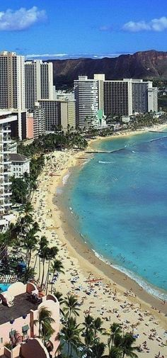 Waikiki Beach, Oahu, Hawaii...by far one of my favorite places in the world!