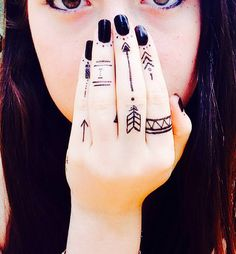 Tribal tattoos picture, photo design idea for Men and Women.