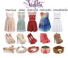 Tenue Violetta