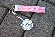 """Schlüsselband """"Prinzessin"""" von FrauGrasWieHeu13 auf DaWanda.com"""