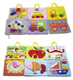 Developing Toy Travel (set of paneels, 12 tablets) (12m+) Children need to exercise their hands and minds often. Books are wonderful, toys are great; but what if you could combine the two, to create a collection of unique experiences for your child? You can, with a set of tablets! A set of
