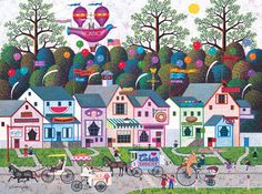 Charles Wysocki: Confection Street