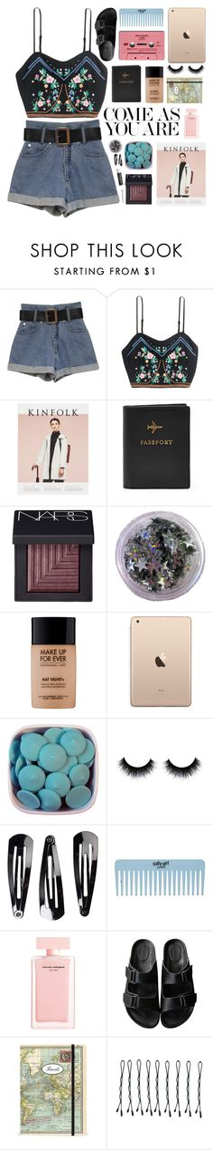 """the sun shines & people forget"" by rock-n-roll-princess-xo ❤ liked on Polyvore featuring NARS Cosmetics, MAKE UP FOR EVER, NLY Accessories, Narciso Rodriguez, American Rag Cie, Cavallini & Co., Chapstick, BOBBY, gottatagrandomn3ss and MeenaGotTagged"