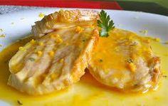 Receta de Lomo de cerdo con salsa de naranja