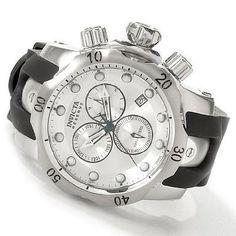 2a192486960 Invicta Reserve Subaqua Venom Chronograph Silver Dial Mens Watch 6116   Watches  Amazon.com