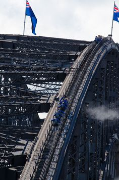 Do the BridgeClimb for a 360-degree view of #Sydney from the top of the Sydney Harbour Bridge!