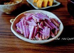 紫つくね芋のとろろ|レシピブログ