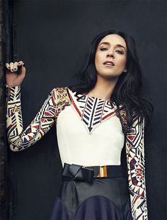 Chloë Sevigny, love her, love that top, however..she needs to go back to blonde..