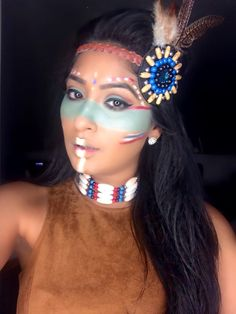 Native American Make up Tutorial More