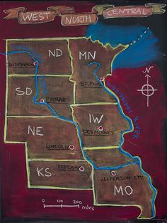 5th Grade: US Geography; West North Central States