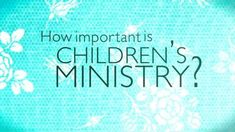 Children's Ministry Video
