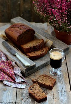 Chlebek dyniowo kawowy - Pumpkin Bread with Coffee