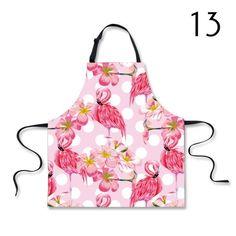 Pink Flamingo Print Design Kitchen Apron - Just Pink About It Flamingo Outfit, Flamingo Gifts, Flamingo Party, Flamingo Print, Pink Flamingos, Flamingo Pictures, Bird Barn, Barn Owls, Pink Bird