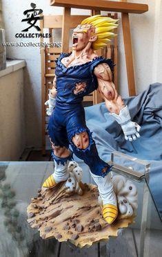 Majin Bejita Figurine Anime, Anime Toys, Dragon Ball Gt, Figure Model, Anime Comics, Action Figures, Fan Art, Poses, One Piece