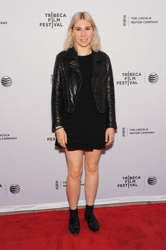 Zosia Mamet. See all the celebrities who attended the 2015 Tribeca Film Festival.