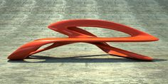 Hai Speed Benches :  Ultra Modern Furniture from Phillip Grass