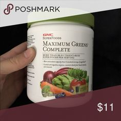 Daily greens Never used! Great way to get those daily servings of greens in! Gnc Other