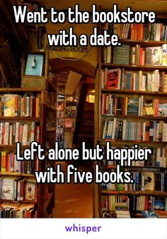 Because the way to a bibliophile's heart is definitely through your book collection.