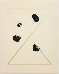 Painting by Giacomo Santiago Rogado, you know I'm in love with black and gold right now