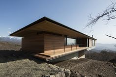 House in Yatsugatake (Nagano, Nagano Prefecture, Japan; 2012; 303.0 sqm; Kidosaki Architects Studio)