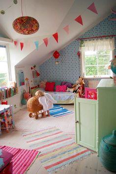 Una #habitación de #niña preciosa!