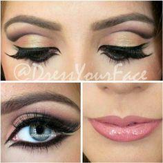 MAC In Anticipation lip liner, Angel lipstick, and Razzle-Dazzler lipglass.