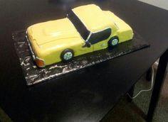 Fondant car cake!