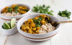 Golden Butternut Squash and Chickpea Curry   The Full Helping