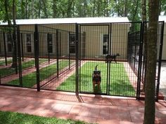 dog kennel ideas outdoor How to build Dog Suites, a modern boarding kennel alternative Metal Dog Kennel, Diy Dog Kennel, Pet Kennels, Building A Dog Kennel, Luxury Dog Kennels, Outdoor Dog Kennels, Dog Boarding Kennels, Dog Kennel Designs, Dog Suit