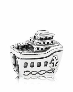 PANDORA Charm - Sterling Silver All Aboard | Bloomingdale's - (Cruise ship charm)