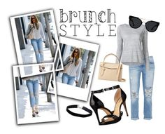"""Brunch Style"" by esmestar04 ❤ liked on Polyvore featuring Current/Elliott, Frame Denim, MICHAEL Michael Kors, Foley + Corinna, Quay and Miss Selfridge"