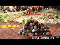 Geger 33 Mortir Aktif Kecangkul Warga Tasikmalaya Di Kebunnya
