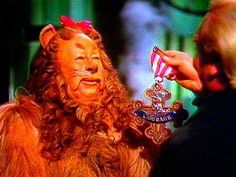 Courage Is Not For Cowards - Wizard of Oz Wizard Of Oz 2013, Lion Makeup, Wizard Of Oz Characters, Rebuilding Trust, Hollywood Story, Cowardly Lion, Character Makeup, Land Of Oz, Childhood Movies