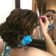 Prom hair 2012--thanks to Shaina!
