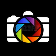 rainbow colored photography  photo