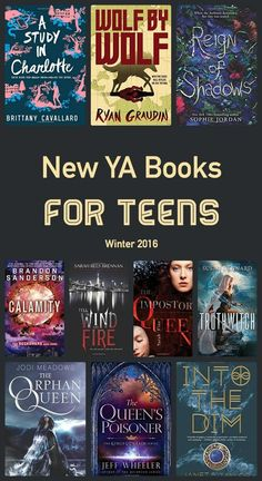 new YA books for teens (and adults like me!)