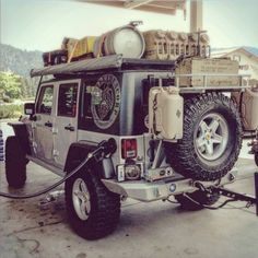 Jeep JK getting ready for the trails . . .