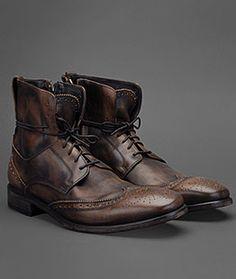 John Varvatos Fleetwood Lace Boot. Gorgeous.