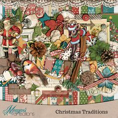 {Christmas Traditions} Digital Scrapbook Kit by Meagan's Creations http://www.gottapixel.net/store/product.php?productid=10013685&cat=0&page=1 http://www.thedigichick.com/shop/Christmas-Traditions-Collection-Bundle-by-Meagan-s-Creations.html