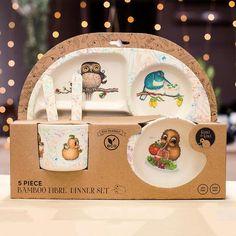 Kuwi the Kiwi's Dinnerware Set Dinnerware, Baby Kids, Mugs, Children, Illustration, Christmas, Backyard, Girls, Travel