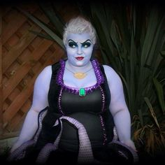 15 Plus Size Halloween Costumes that WOWED Us- She Might Be Loved as Ursula