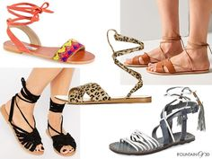 Looks for Less: Simply Tied Up Sandals