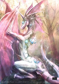 Jewel of the North the dragon with jewels all over it Mythical Creatures Art, Mythological Creatures, Magical Creatures, Fantasy Creatures, Dragon Images, Dragon Pictures, Fantasy World, Fantasy Art, Pawer Rangers