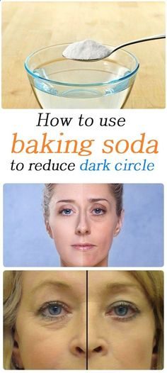 How to use baking soda to reduce dark circle
