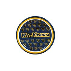 NCAA(TM) West Virginia Paper Dessert Plates