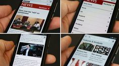 Get the BBC News website on your mobile phone.