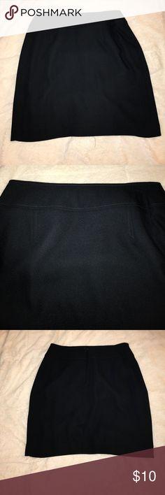 Dark Navy Skirt Perfect for Office Dark Navy Skirt 19Inch Length Skirts