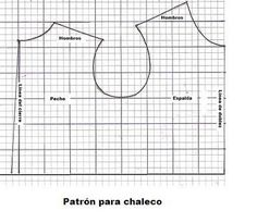 DESEO HACER UN CHALECO | Aprender manualidades es facilisimo.com Dog Clothes Patterns, Coat Patterns, Sewing Patterns, Dog Coat Pattern, Vest Pattern, Knit Dog Sweater, Dog Sweaters, Dog Jacket, Dog Dresses